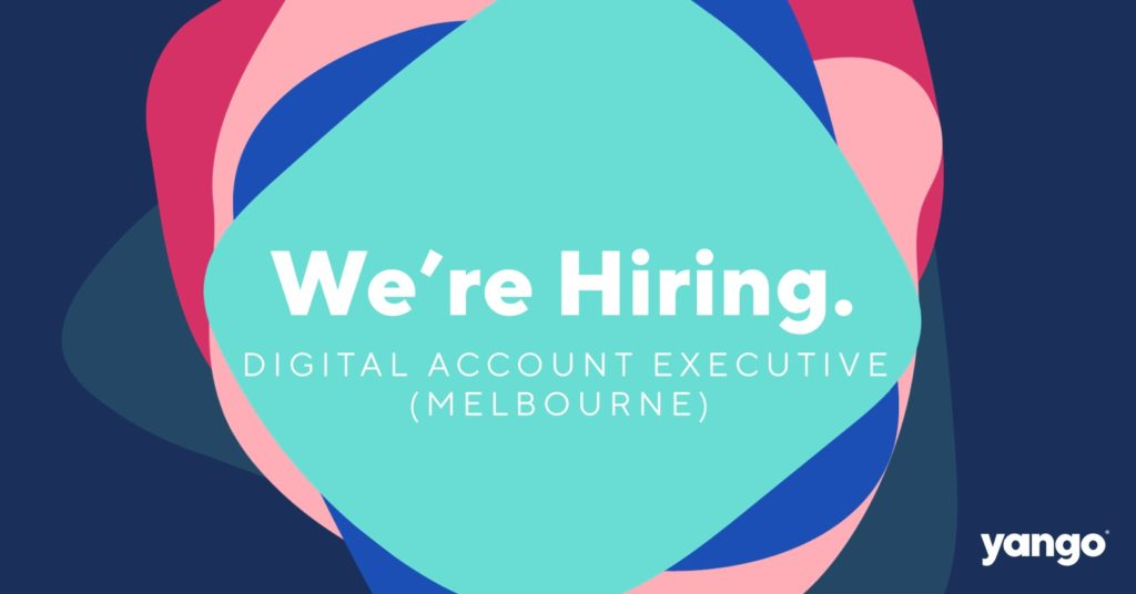 We're looking for a Digital Account Executive to join our Melbourne Team